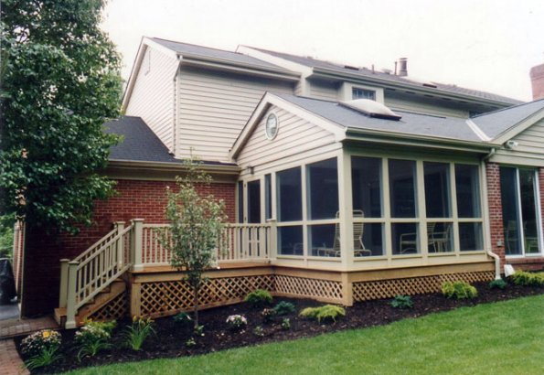 Porches for How to enclose a screened in porch