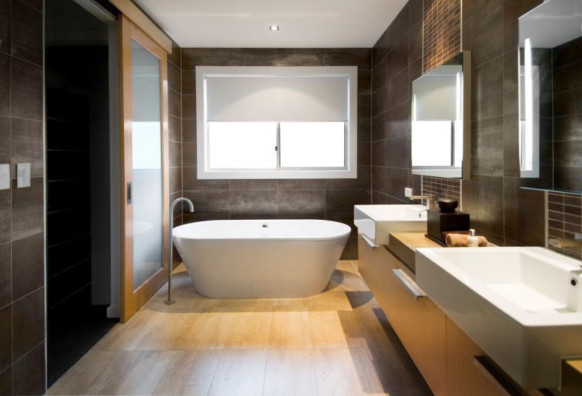 contemporary bathroom luxurious bathroom