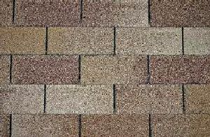 brown asphalt shingles