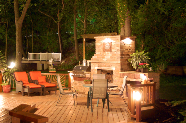 Fireplaces warm up any outdoor space  creating the perfect gathering