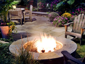 firepit outdoor space