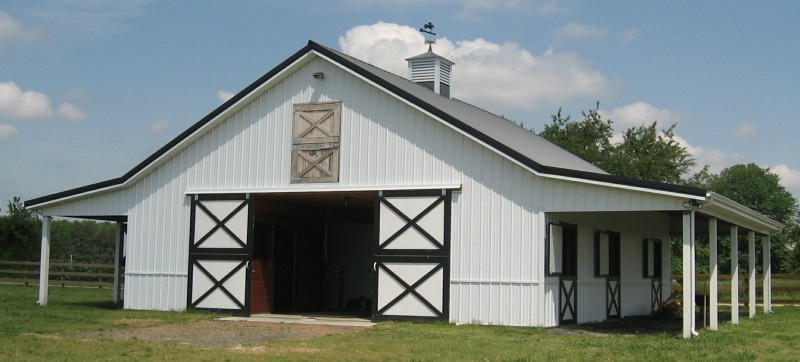 Pole buildings garages for Barn designs for horses