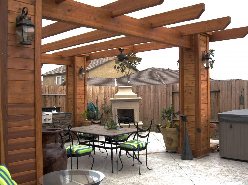 Decks gazebos pergolas for Pergola designs